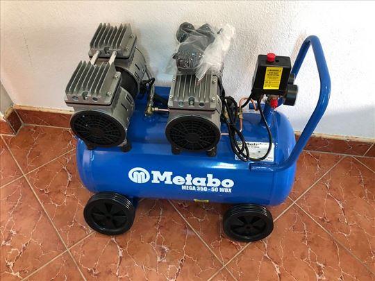 Kompresor bešumni Metabo 350-50WBX 50lit 3,3Kw