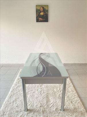 Moderan trpezarijski sto i stolice KOMPLET 3D