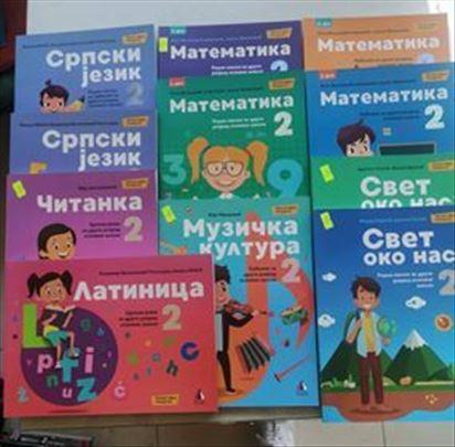 Komplet knjiga za 2 razred osnovne skole VULKAN