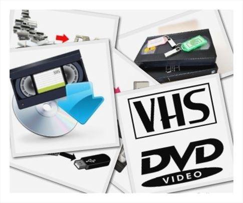 Presnimavanje VHS na DVD i USB