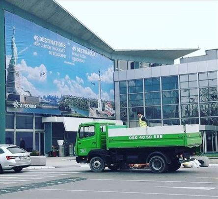 Odvoz šuta i građevinskog otpada, 0-24. Beograd