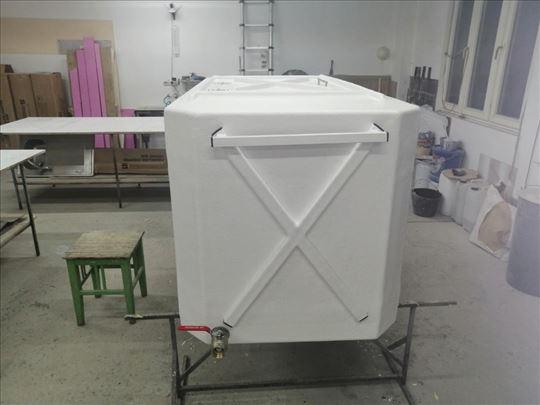 Izrada cisterni (poliester, stakloplastika)