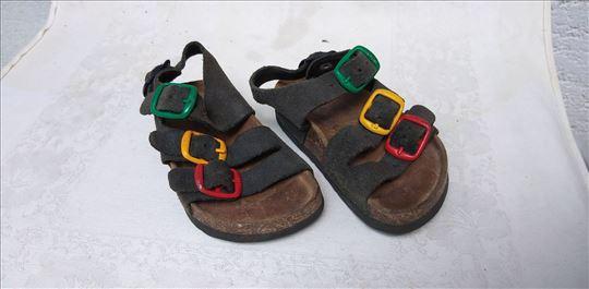 Dečije sandale Grubin sve koža i pluta br.21