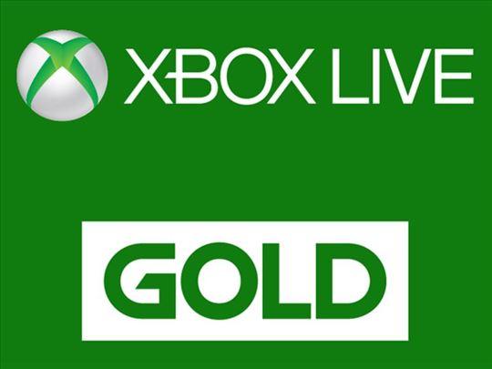 Xbox Live Gold Akcija Hit