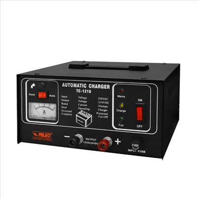 Automatski punjač akumulatora 6V/12V, 10A TC-1210