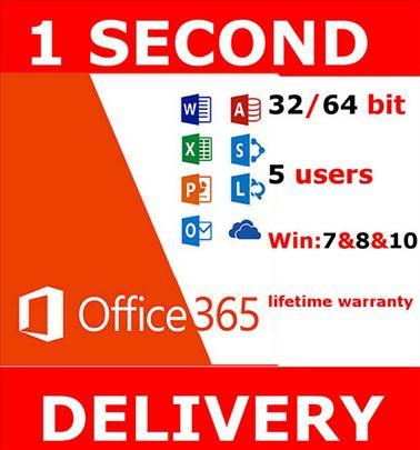 Microsoft Office 365 2019 - legalni account