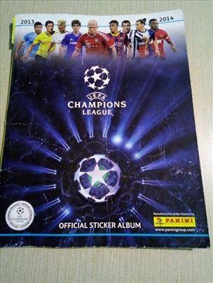 Album za sličice Panini Uefa Champions League 2013
