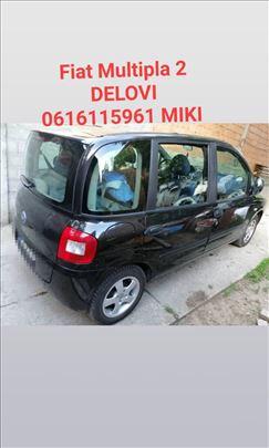 Fiat Multipla 2 bocna stakla