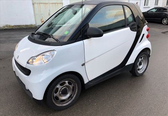 Smart ForTwo black & white limited mhd softouch