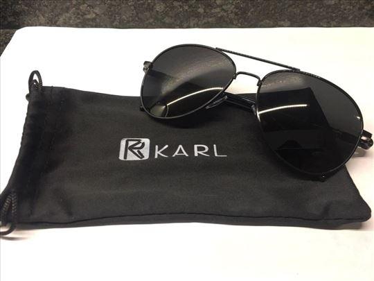 R Karl Polarizovane sunčane naočare Aviator 3025