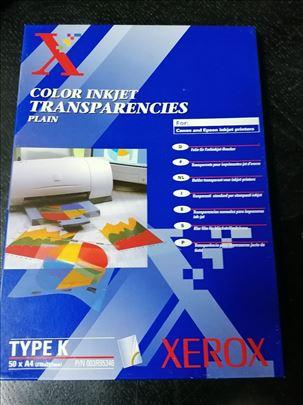 Xerox originalna transparentna folija