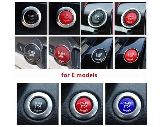BMW E90,E87,E60,X1,X3,X5 tri boje start-stop dugme