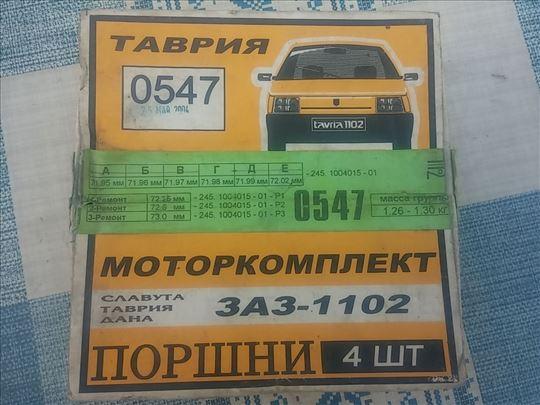 Klipovi ZAZ 1102 Tavria 72,00mm