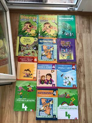 Knjige za cetvrti razred OŠ
