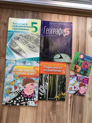 Knjige za peti razred OŠ