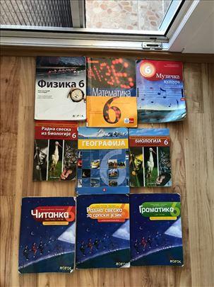 Knjige za sesti razred  OŠ