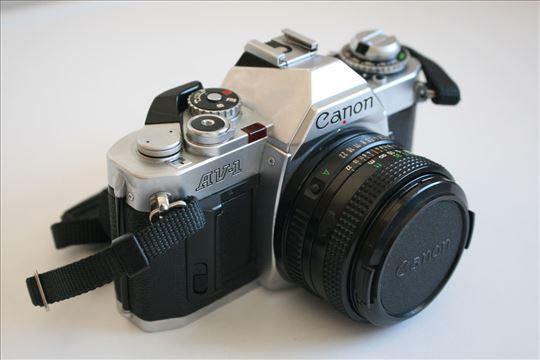 Canon AV-1 i Canon FD 50mm f:1.8