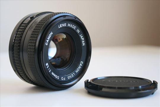 Canon FD 50mm f:1.8