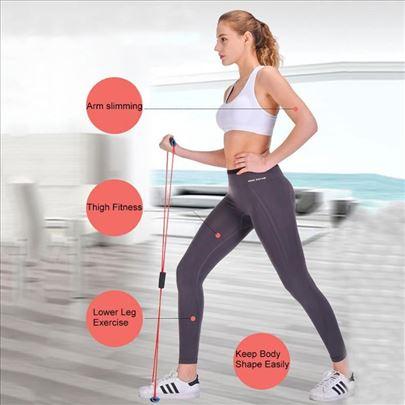Gumiflex - sprava za Fitnes i Pilates - Crvena