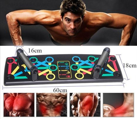 Daska za vežbanje daska za gornji deo tela multifu