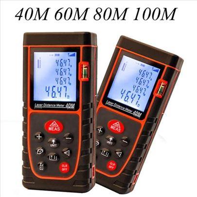 Laserski merač daljine do 80m sa libelom