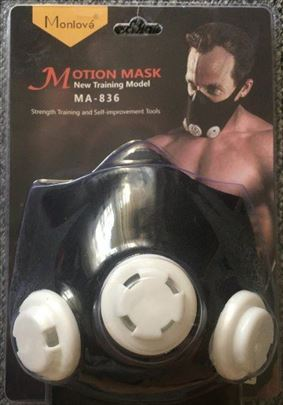 Maska za vežbanje maska koja povećava kapacitet