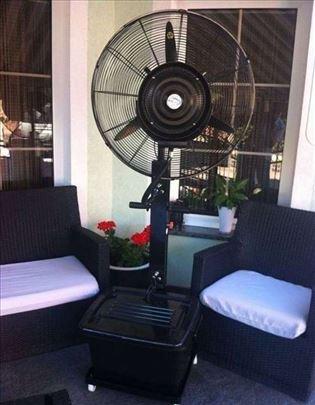 Ventilator sa raspršivačem vode- ventilator za kaf