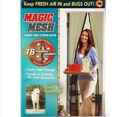 Zavesa-magična magnetna mreza protiv komaraca koma