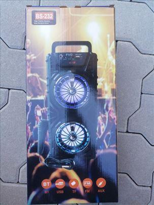 Zvucnik karaoke BS 232-NOVO- karaoke zvucnik-zvucn