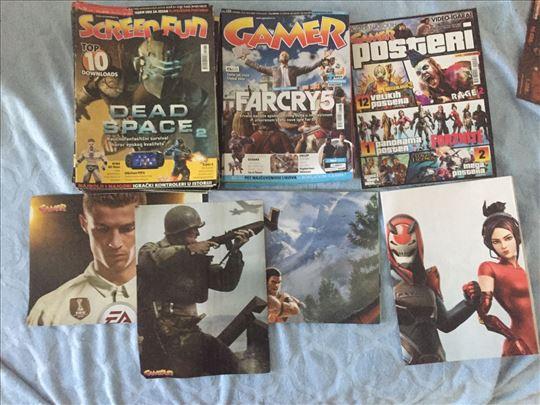ScreenFun+Gamer kolekcija + posteri