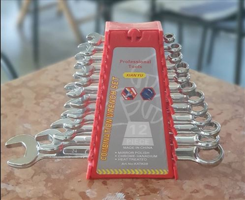Set ključeva, okasto- viljuškasti ključevi