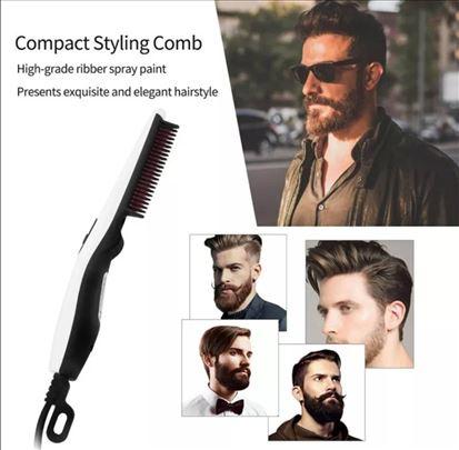 Stajler za kosu i bradu, električni češalj