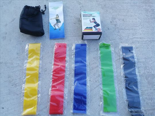 Trake za vežbanje trake za ruke i noge rastegljive