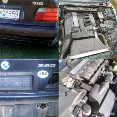 BMW 320 E36 motori/delovi