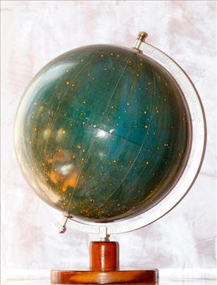 Globus sa konstalacijom zvezda A.Krausa iz 1950.