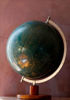 Globus neba A.Krausa iz 1950.