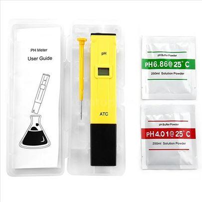 Prenosni digitalni merač pH visoke preciznosti