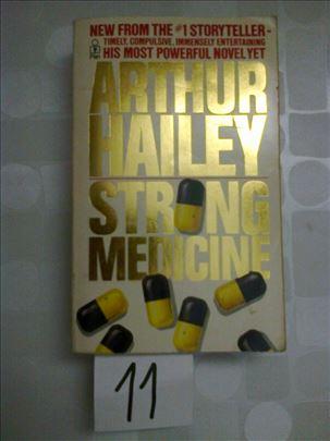 Strgong medicine - Arthur Hailey - na engleskom