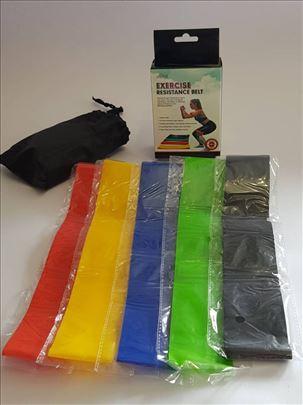 Trake za trening - rastegljive trake za noge-ruke