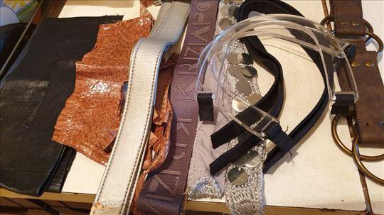 Ručke za torbe i tašne, koža, zmija, Krizia drške