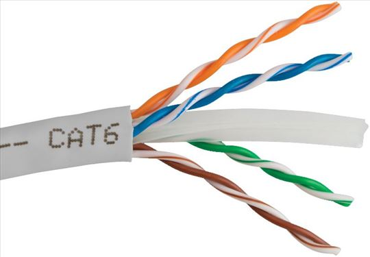 UTP mrežni kabl CAT6 CCA kabl pun presek 305M