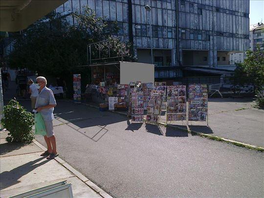 Prodaja ukrštenica, burdi, knjiga - kiosk blok 44