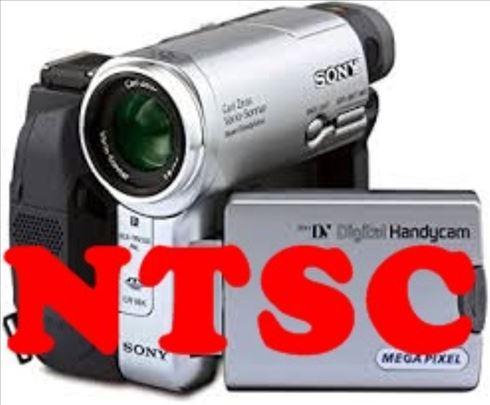 NTSC mini DV presnimavanje