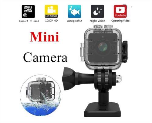 SQ12 HD 1080P vodootporna mini kamera DVR