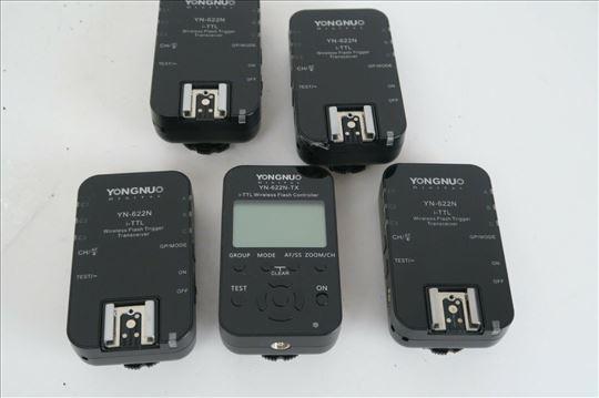 Yongnuo YN-622n-TX kontroler + YN-622n triger