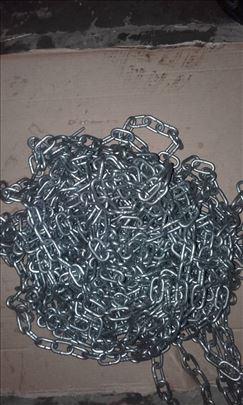Pocinkovan lanac od 3 mm Novo