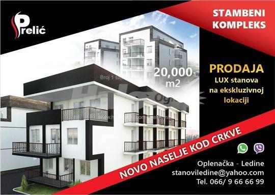 Useljiv,Novi Beograd,Ledine,novi stambeni kompleks