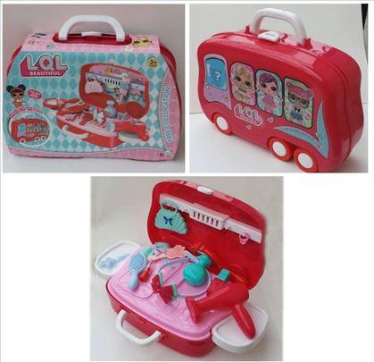 Dečiji set za ulepšavanje LOL u koferu