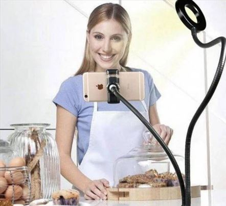 Ring light selfi sa držačem za telefon