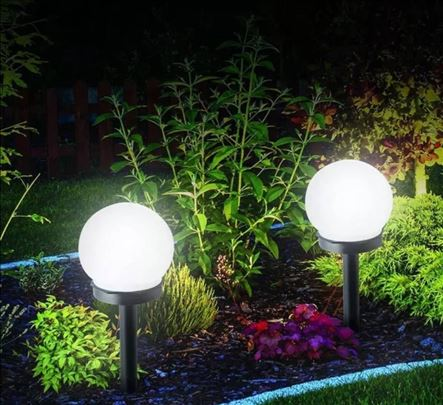 Solarne lampe za dvorište i baštu 4 komada